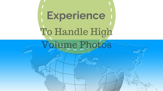 high volume photo editing services