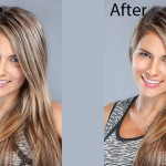 Professional portrait retouching services