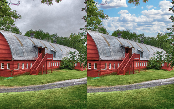 real estate photo retouching services