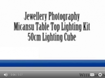 Product Photography Tutorial Jewellery and Small Items