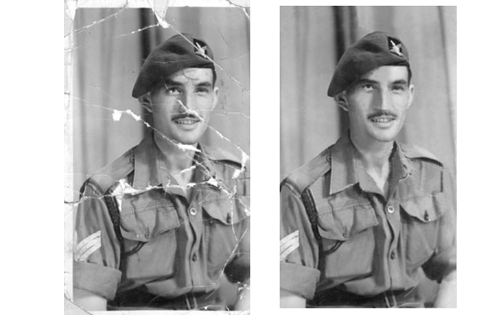 old photo restoration services
