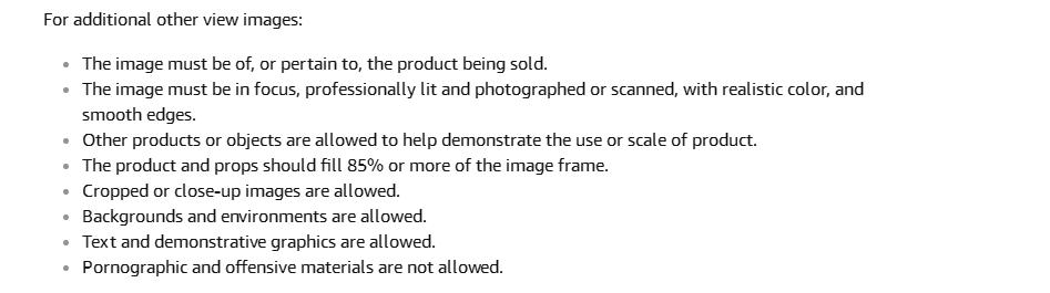 amazon photo requirements