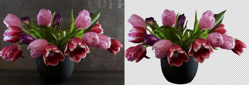 flower image editing services